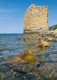 Sea coast and rocks Royalty Free Stock Photo