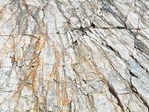 Sea coast rocks texture Stock Photography