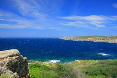 Sea coast on Sardinia Royalty Free Stock Photos