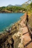 Sea Coast Scenery Royalty Free Stock Image