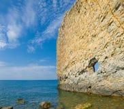 Sea coast and sky Royalty Free Stock Image