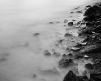 Sea coast stone Royalty Free Stock Images