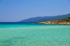 Sea coast at summer Stock Photo