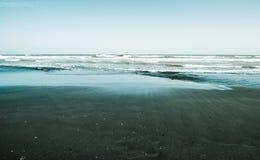 Sea coast, surf Stock Images