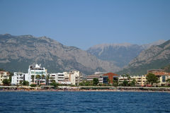 Sea coast,Turkey. Royalty Free Stock Photography
