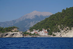 Sea coast,Turkey. Stock Photography