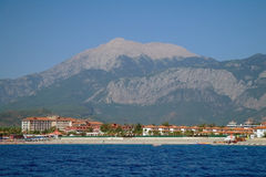 Sea coast,Turkey. Royalty Free Stock Images