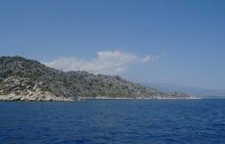 Sea coast,Turkey. Stock Photos