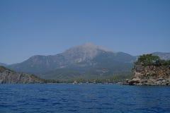 Sea coast,Turkey. Royalty Free Stock Photos