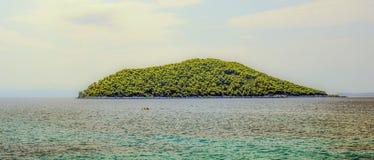 Sea, Coastal And Oceanic Landforms, Sky, Island Stock Image