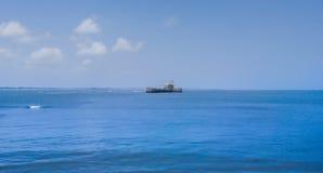 Sea, Coastal And Oceanic Landforms, Waterway, Horizon stock photo