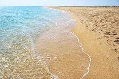 Sea coastline Royalty Free Stock Image