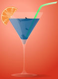 Sea cocktail Royalty Free Stock Photography