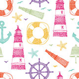 Sea color pattern Stock Photos