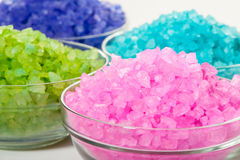 Sea color salt Royalty Free Stock Images