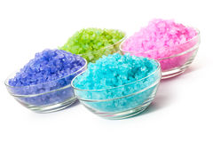 Sea color salt Royalty Free Stock Photo