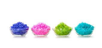 Sea color salt Stock Image