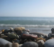 Sea color stones Royalty Free Stock Photos