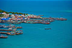 Sea and communities. In Thailand Stock Images