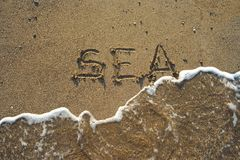 Sea concept Royalty Free Stock Images