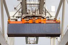 Sea container crane Royalty Free Stock Image