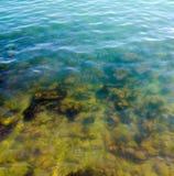 Sea. In Corfu island Greece Royalty Free Stock Photos