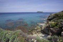 Sea of Corsica Royalty Free Stock Images