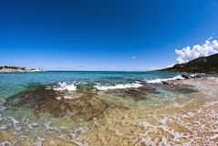 Sea of Corsica, France Royalty Free Stock Images