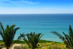 Sea of Cortez in Mexico. Scenic coastline of Sea of Cortez from Los Cabos, Mexico Stock Image