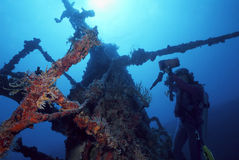 Sea of Cortez Shipwreck Royalty Free Stock Photo