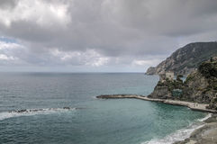 Sea cost in Italy Liguria Cinque Terre Stock Images