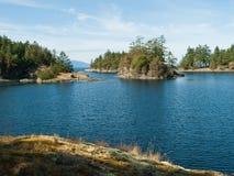 Free Sea Cove Of Remote Rocky Coast Stock Image - 22337121