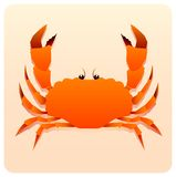 Sea crab Royalty Free Stock Photos