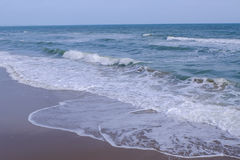 Sea with crashing waves Royalty Free Stock Photography