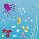 Sea Creatures vector illustration