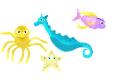 Sea Creatures. Stock Photography