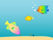 Sea Creatures royalty free illustration