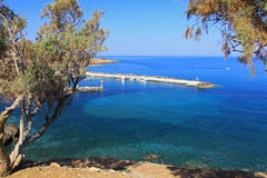 Sea of Crete Stock Photo