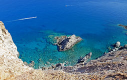 Sea of Crete Stock Photo