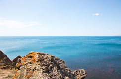 Sea in Crimea Royalty Free Stock Photography