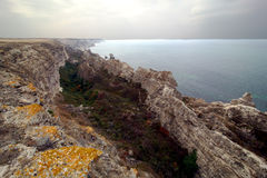 The sea in the Crimea, Ukraine Royalty Free Stock Photography