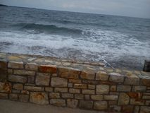 Sea in Croatia. Photo of Croatia'n Sea Royalty Free Stock Photo