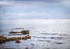 Sea. Croatia. royalty free stock image