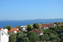 Sea. This is Croatian city. It was taken on vacations. nPhoto taken on: June, 2015 Royalty Free Stock Photos