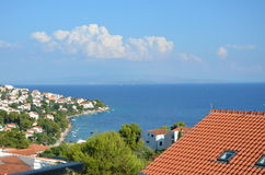 Sea. This is Croatian city. It was taken on vacations. nPhoto taken on: June, 2015 Stock Image