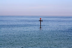 The sea at cromer Stock Image