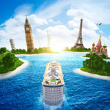 Sea cruise Royalty Free Stock Photography