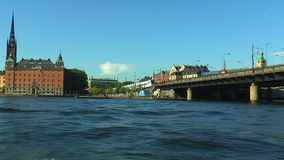Sea cruise in Stockholm, Sweden. Scenic summer sea cruise in Stockholm, Sweden stock video
