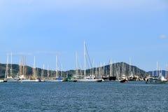 Sea cruise on yaht Stock Image