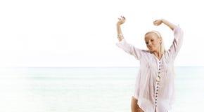 Sea dance royalty free stock photography